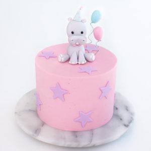 Happy Hippo Cake