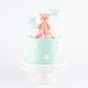 Adorable Teddy Bear Cake