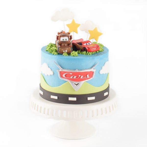 Cars - Lightning McQueen Cake