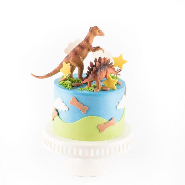 Mighty Dinosaurs Cake